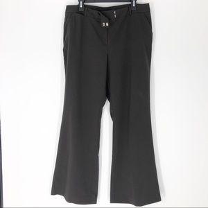 New York & Company 14 Brown Dress Trouser Pants